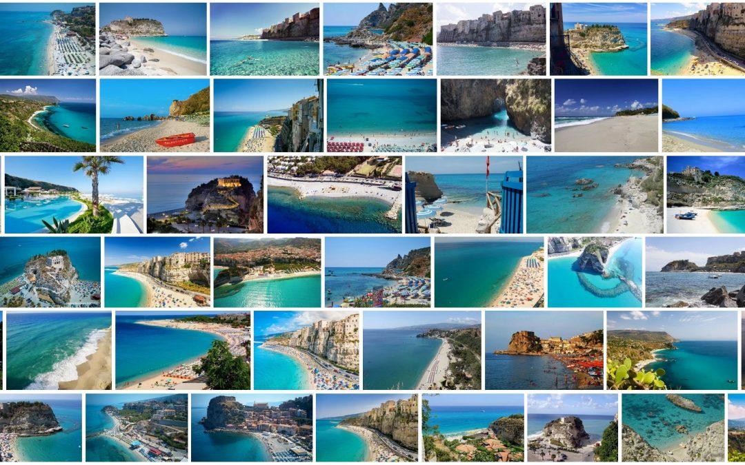 Populiariausi Kalabrijos paplūdimiai