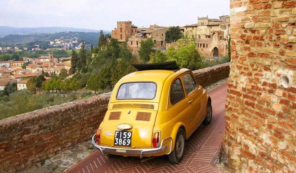 Vairavimas Pietų Italijoje