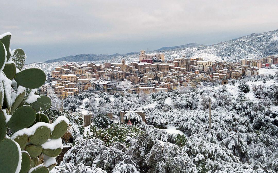 Žiema pietų Italijoje