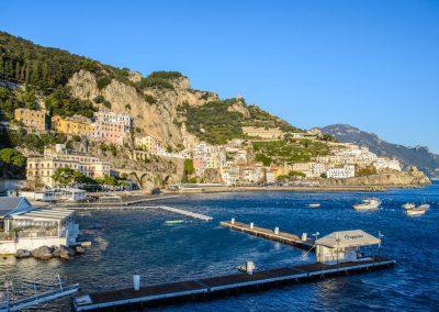Amalfio pakrantė (Pietų Italija)