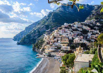 Amalfio pakrantės miestai