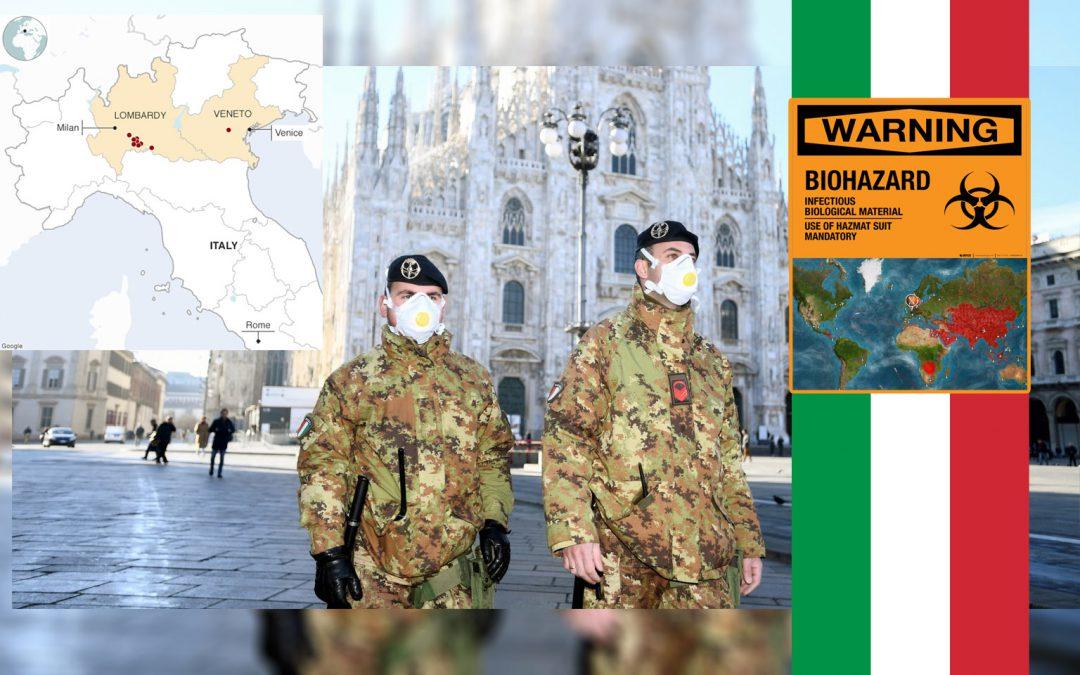 Koronavirusas Italija